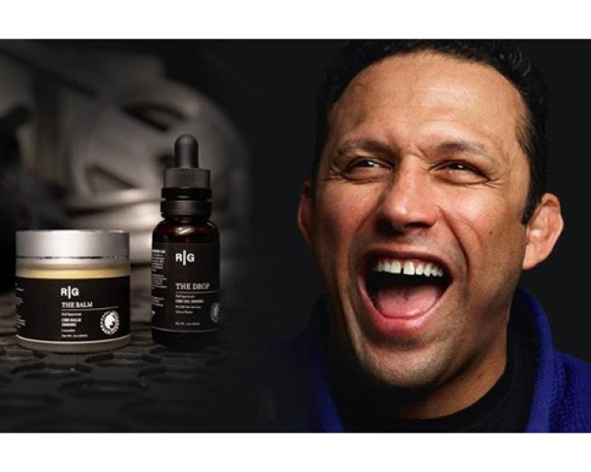 Renzo Gracie smiling for the camera
